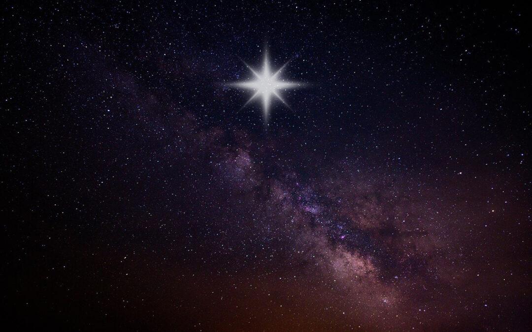 Det strålar en stjärna